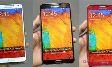 Samsung Galaxy Note 3 thêm màu mới