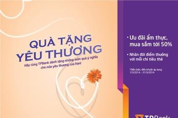 Quà tặng tháng ba ngọt ngào từ TPBank