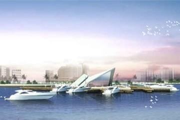 Ngày 25-4, khởi công dự án cầu tàu và bến du thuyền sông Hàn