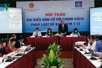 WHO chia sẻ kinh nghiệm về bảo hiểm y tế với Việt Nam