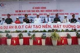 1.300 tỷ đồng bảo hiểm DA cải tạo QL1A qua Phan Thiết- Đồng Nai