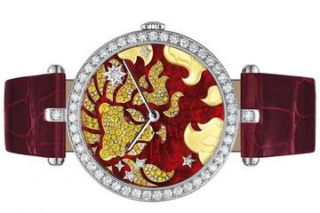 Bộ sưu tập đồng hồ 12 cung hoàng đạo của Van Cleef & Arpels