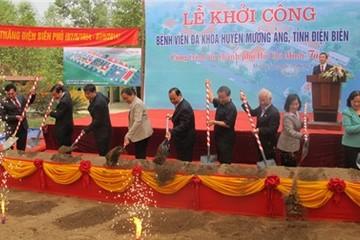 Khởi công xây dựng Bệnh viện huyện Mường Ảng