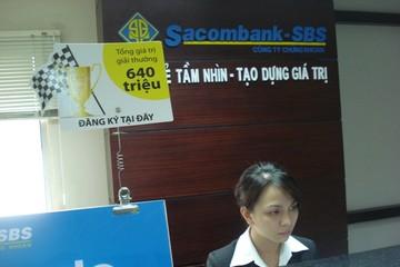 Chứng khoán Sacombank (SBS) ra khỏi diện kiểm soát đặc biệt từ 6/3