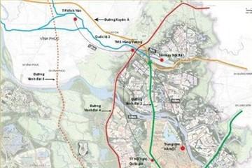 Chốt quy hoạch vành đai 5 - vùng Thủ đô Hà Nội