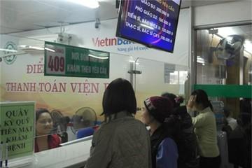 Hơn 110.000 lượt bệnh nhân lựa chọn sử dụng thanh toán viện phí qua ATM