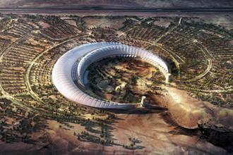Ngắm thiết kế công viên có mái che lớn nhất thế giới