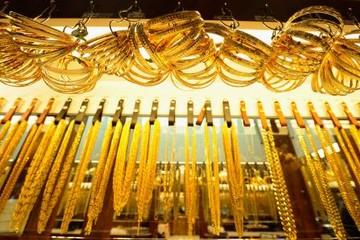 Giá vàng giảm sau 5 phiên tăng liên tiếp