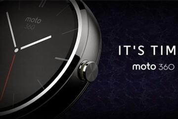 Motorola tiết lộ đồng hồ thông minh Android