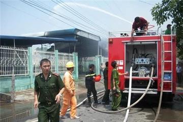 Kiên Giang: Cháy xưởng lưỡi câu, thiệt hại gần 1 tỷ đồng
