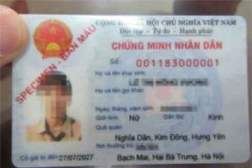 Từ 1/4, cấp chứng minh nhân dân 12 số trên toàn TP Hà Nội