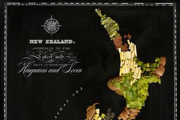 'Bản đồ thức ăn' vòng quanh thế giới