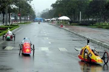 Xe máy tự chế Việt đạt kỷ lục mới đi 1.164km/lít xăng