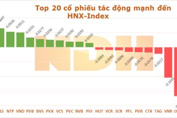 10 cổ phiếu ảnh hưởng nhất tới 'Index' phiên 27/3/2014
