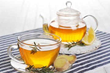 Những tác dụng sức khỏe tuyệt vời của trà gừng