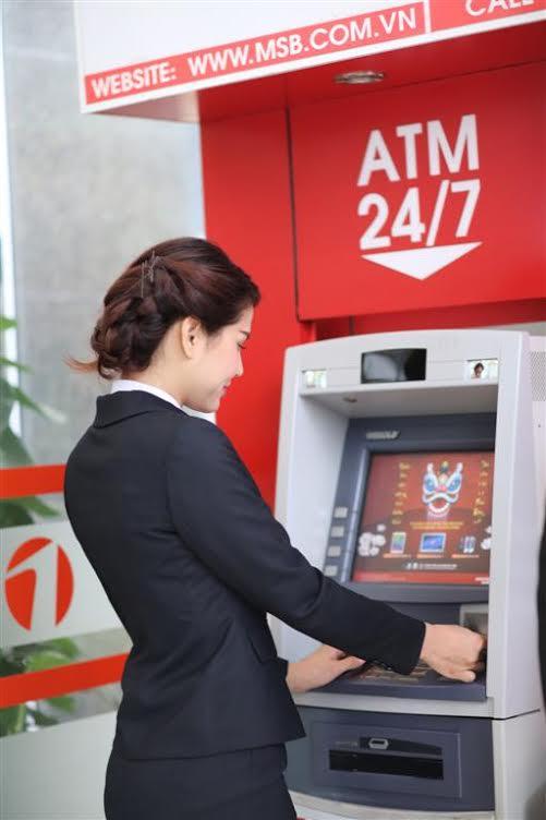 Từ 1/4, Maritime Bank điều chỉnh biểu phí giao dịch trên ATM