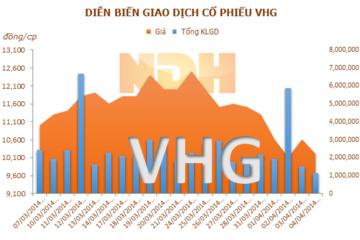 VHG: Chứng khoán Xuân Thành bất ngờ trở thành cổ đông lớn