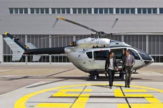 Trực thăng Airbus EC145 với phong cách Mercedes-Benz