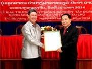 Tập đoàn cao su Việt Nam khai trương Văn phòng ở Lào