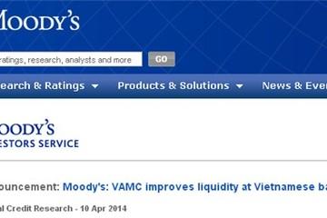 Moody's: Sinh lợi từ chiết khấu trái phiếu VAMC có thể không nhiều
