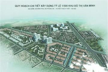 Chủ đầu tư Khu đô thị Văn Minh rộng 123ha là ai?