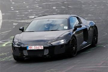 Audi R8 thế hệ mới 'hiện nguyên hình'