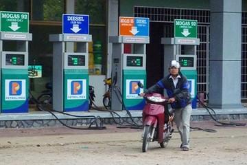 15h chiều nay, giảm giá dầu, giữ nguyên giá xăng