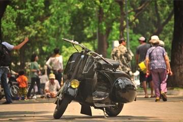 Vespa 98 tự chế độc nhất Sài Gòn