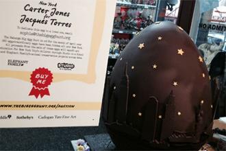 Jacques Torres đấu giá trứng sô cô la đắt nhất thế giới