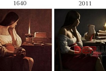 Những shoot hình 'đạo' xuyên thế kỷ