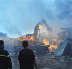 Vụ hỏa hoạn KCN Vĩnh Tuy: Ước tính thiệt hại hàng chục tỷ
