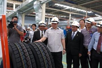 Khánh thành nhà máy sản xuất lốp xe tải toàn thép hiện đại
