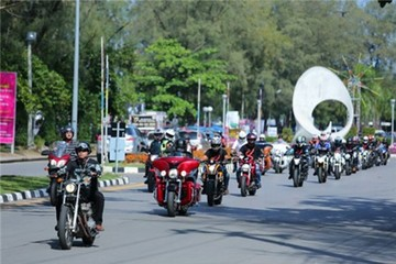 Triển lãm môtô Phuket - đại tiệc cho dân mê xe