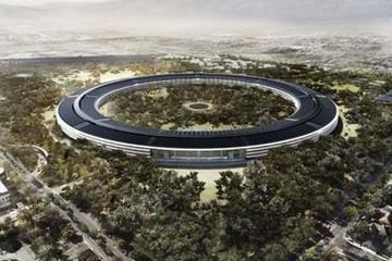 Apple xây 'phi thuyền không gian' trên mặt đất
