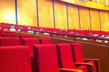 ĐHĐCĐ Vietcombank: Cổ đông vắng bóng, hội trường toàn ghế trống