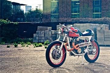 Honda CB350 - cafe racer ngộ nghĩnh