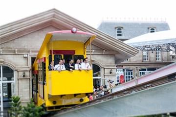 Tàu hỏa leo núi đầu tiên tại Việt Nam