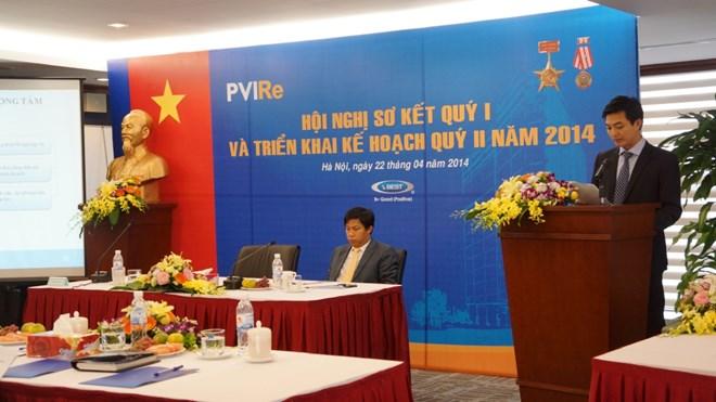 PVI Re: Quý I lãi trước thuế 26 tỷ đồng