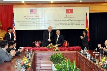 Chính thức ký hiệp định về hạt nhân Việt Nam-Hoa Kỳ