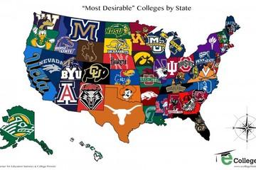 Các trường đại học được ưa thích nhất tại Mỹ