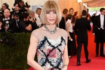 Váy hàng hiệu của 'bà trùm' Vogue Mỹ