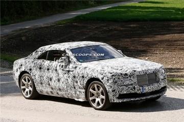 Rolls-Royce Wraith mui trần xuất hiện trên đường thử