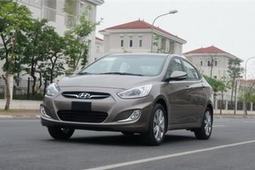 Hyundai Accent mới tại Việt Nam giá từ 551 triệu