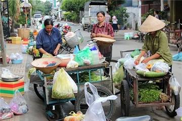 Xóm siêu thị di động ở Sài Gòn