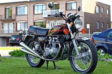 Honda CB550K - làm mới người cũ