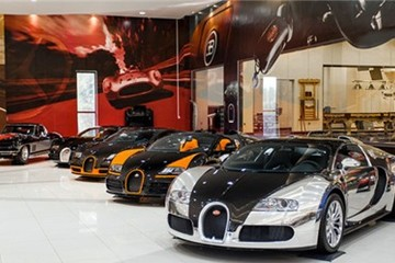 Bộ sưu tập siêu xe 'không tưởng' tại Abu Dhabi