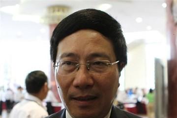 PTT Phạm Bình Minh: Đã có 20 cuộc giao thiệp trực tiếp với TQ
