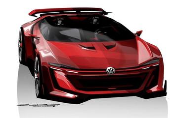 Volkswagen tiết lộ thiết kế siêu xe GTI Roadster trước ngày ra mắt