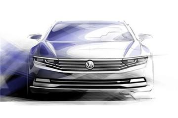 Volkswagen Passat thế hệ mới: Chưa ra mắt đã lộ thông tin