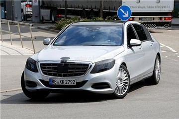Mercedes-Benz S600 Maybach siêu sang sẽ trình làng vào tháng 11?